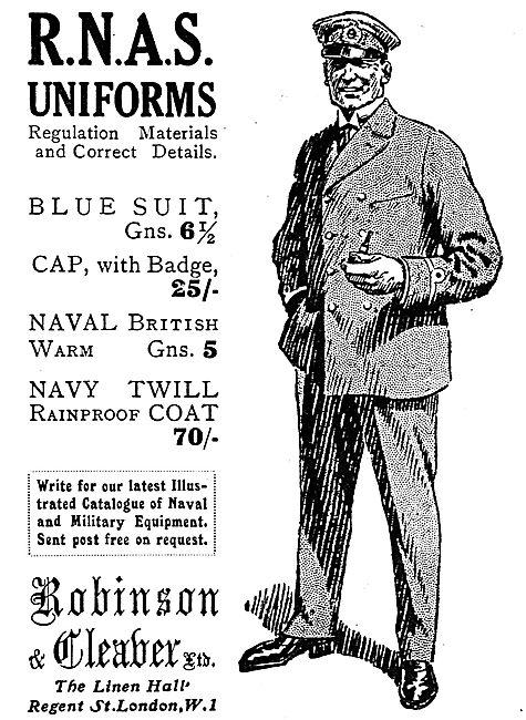 Robinson & Cleaver RNAS Uniforms