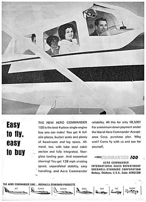 Rockwell Aero Commander 100