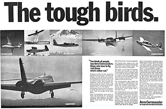 Rockwell Aero Commander Range 1967