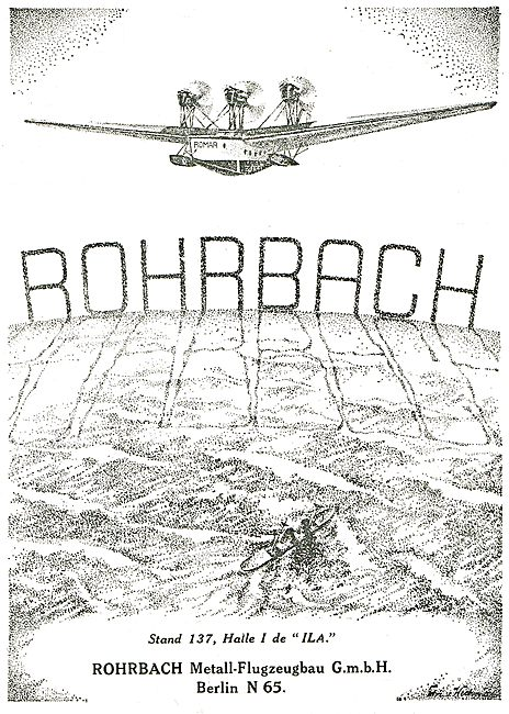 Rohrbach - Flying Boat Romar