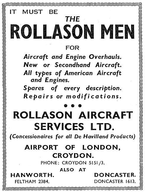 Rollason Aircraft Services Croydon