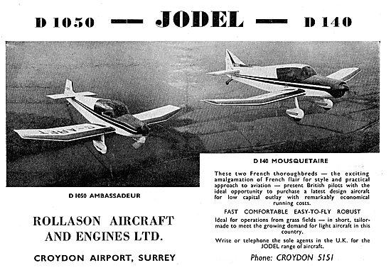 Rollason For Jodel D1050 & D140
