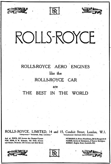 Rolls-Royce Aero Engines - The Best In The World