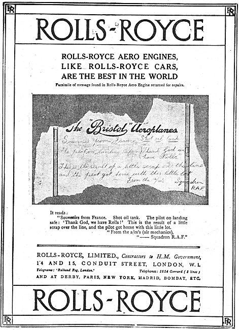 Rolls-Royce Aero Engines