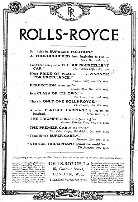 Rolls-Royce Engines Testimonials