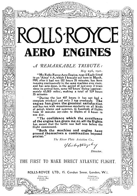 Rolls-Royce Eagle