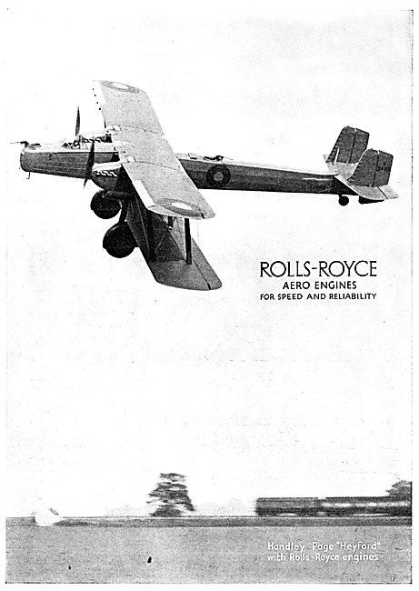 Rolls-Royce Engines - Handley Page Heyford