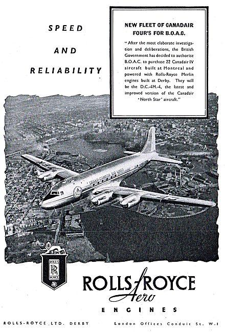 Rolls-Royce Merlin - Canadair IV