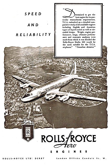 Rolls-Royce Merlin -TCA Airlines