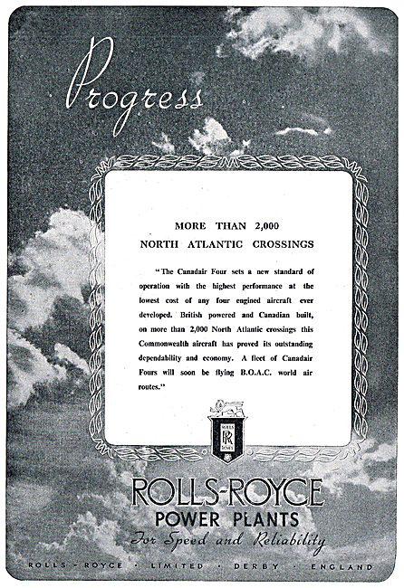 Rolls-Royce Progress - Canadair Four