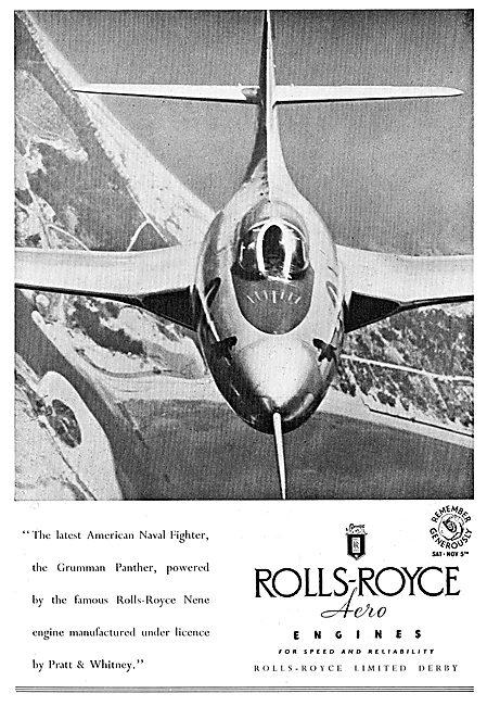 Rolls-Royce Nene Grumman Panther