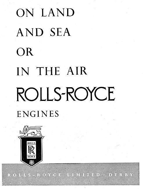 Rolls-Royce Engines - Land Sea & Air