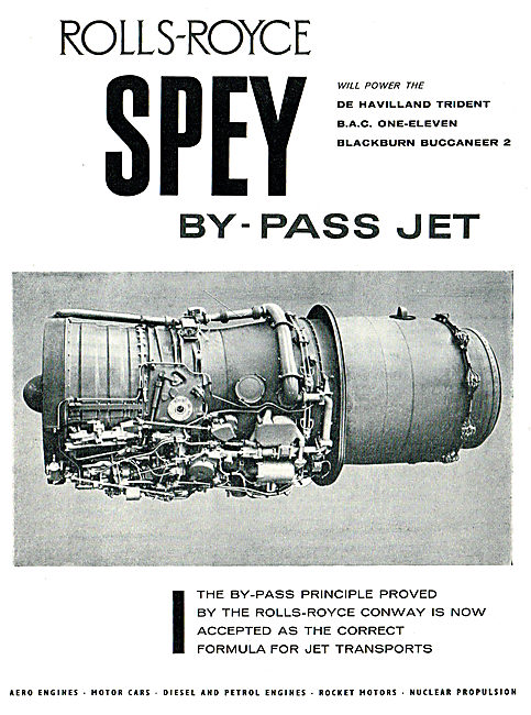 Rolls-Royce Spey By-Pass Jet For The Blackburn Buccaneer