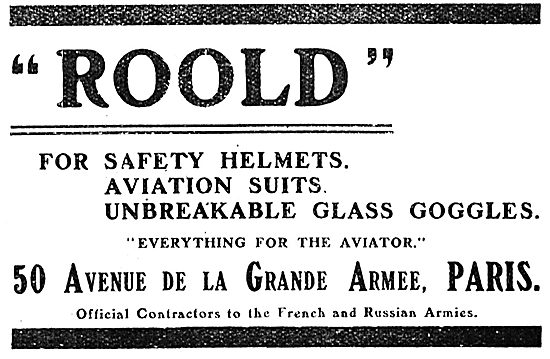 Roold Safety Helmets, Goggles & Suits For Aviators