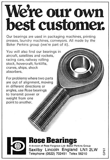 Rose Bearings - Baker Perkins Group