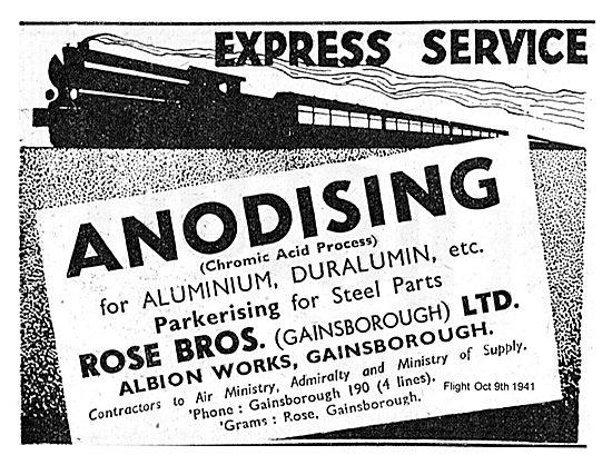 Rose Bros Express Anodising Service