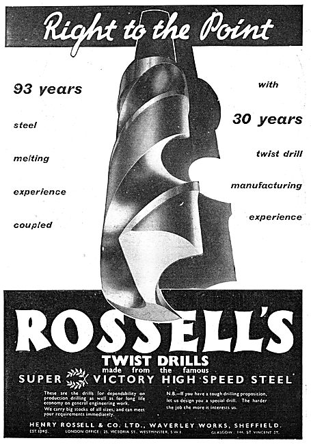 Rossell Twist Drills