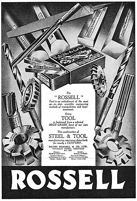 Rossell - Manufacturers Of Machine Tools