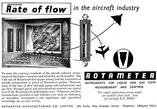 Rotameter Fluid Flow Measurement Instruments