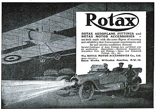 Rotax Aeroplane Fittings & Accessories