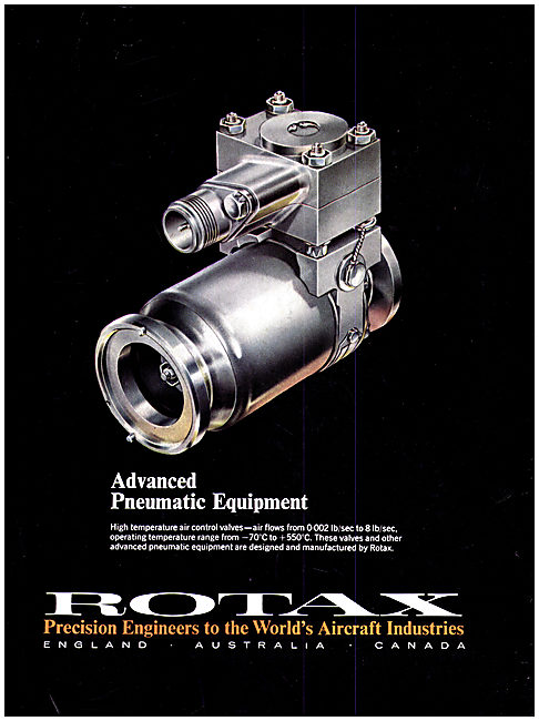 Rotax Pneumatic Systems & Components For Aircraft