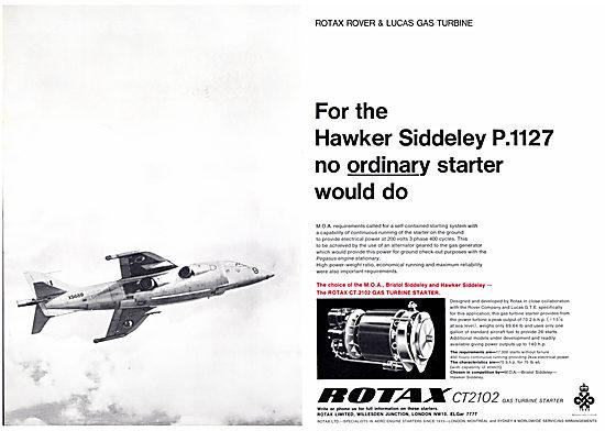 Rotax CT.2102 Gas Turbine Starter 1966