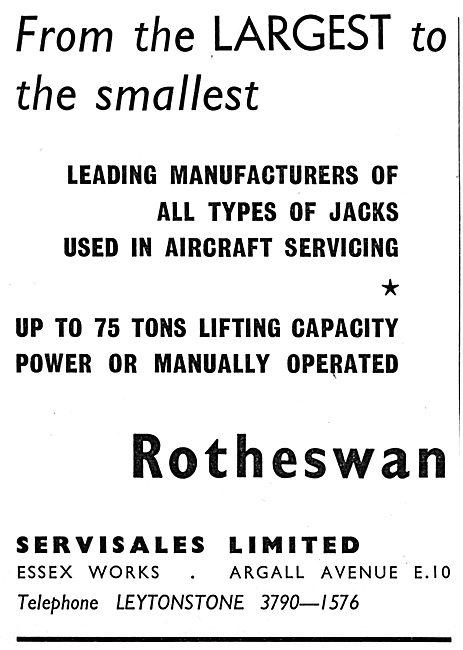 Rotheswan Aircraft Servicing Jacks