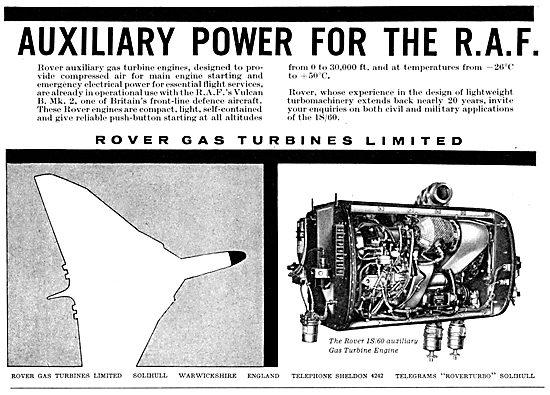 Rover Gas Turbine AAPU