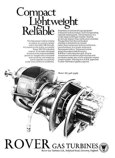 Rover Gas Turbines - 2S/150