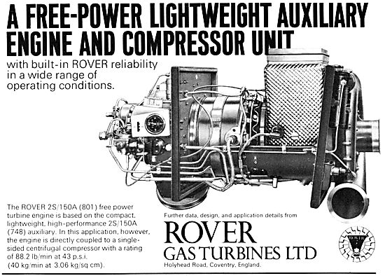 Rover Gas Turbines - 2S/105A (801)