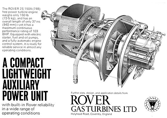 Rover Gas Turbines - 2S/150A (748)