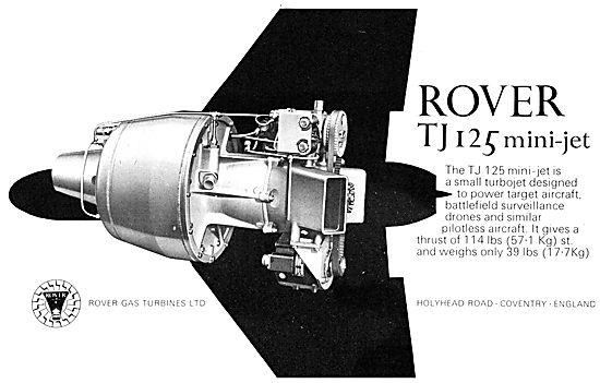 Rover Gas Turbines - TJ 125 Mini-Jet