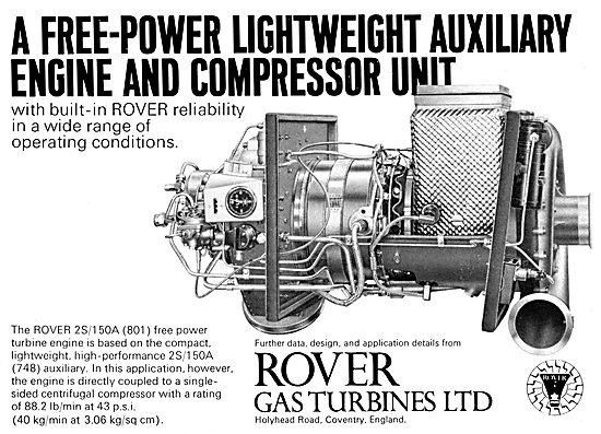 Rover 2S/150A (801) Gas Turbine APU