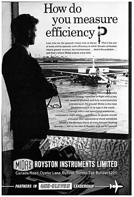 Royston Instruments: MIDAS Flight Data Recorders