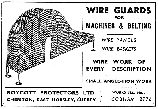 Royston Protectors Wire Guards For Machine Tools