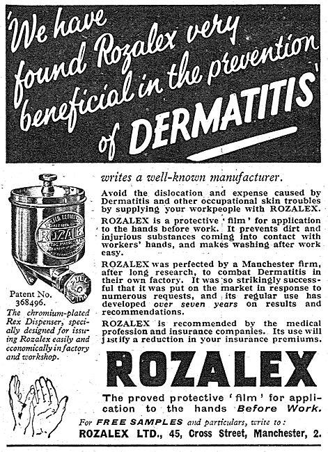Rozalex Barrier Cream For Workshops