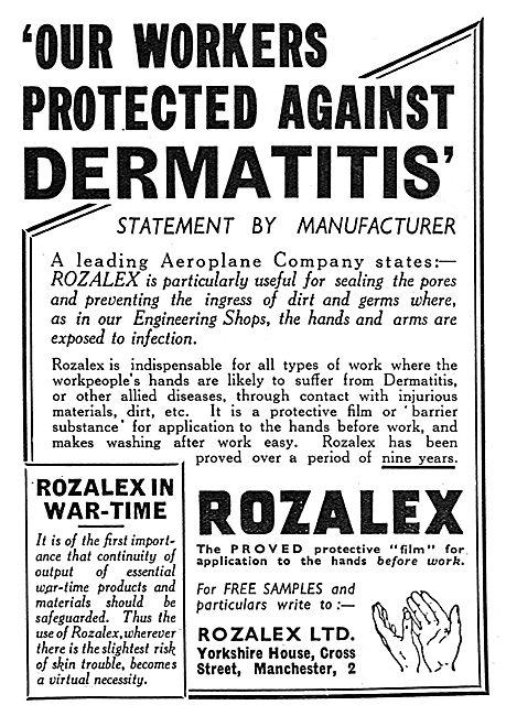 Rozalex Barrier Cream 1939