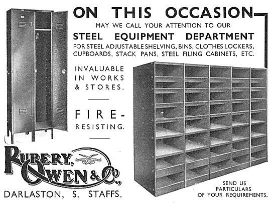 Rubery Owen Fire Resistant Steel Cabinets