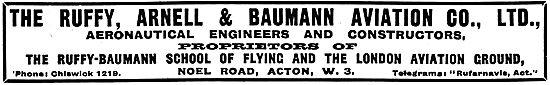 Ruffy-Baumann School Of Flying - Ruffy, Arnell & Baumann Engineer