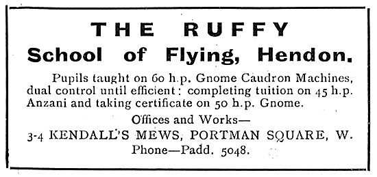 Learn On 60 HP Caudrons At The Ruffy School Of Flying