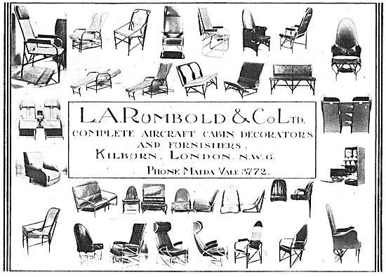 Rumbold Aircraft Cabin Decorators & Furnishers