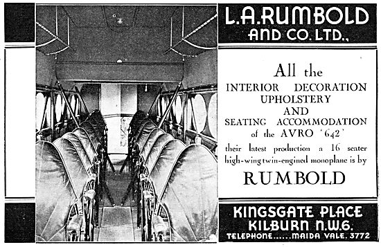 Rumbold Aircraft Seating & Cabin Furnishings