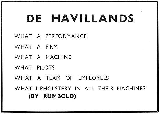 Rumbold Aircraft Seats