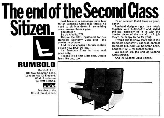 Rumbold Aircraft Seating