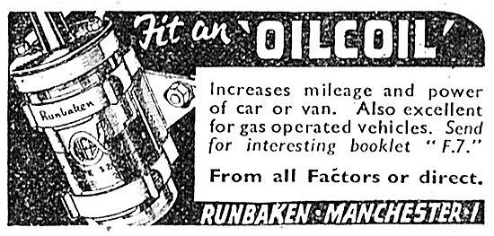Runbaken Oil Coil