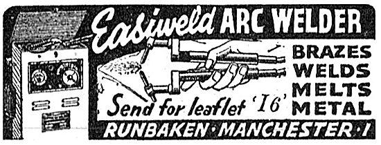 Runbaken Arc Welder 1942