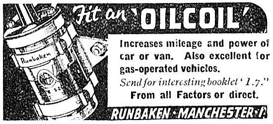 Runbaken Oil Coil 1943