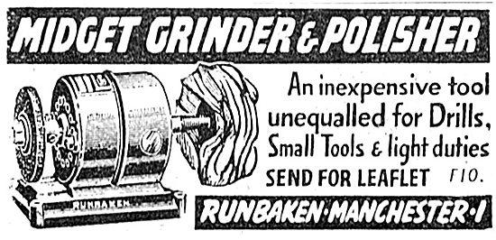 Runbaken Midget Grinder & Polisher 1943