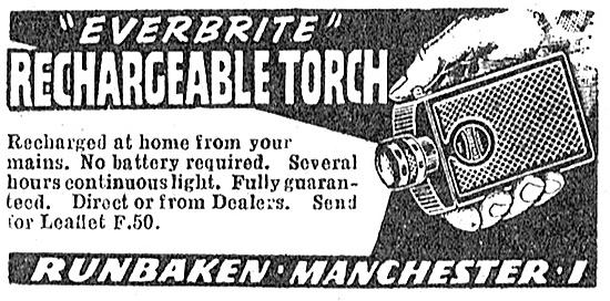 Runbaken Rechargeable Torch