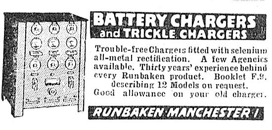 Runbaken Battery Chargers